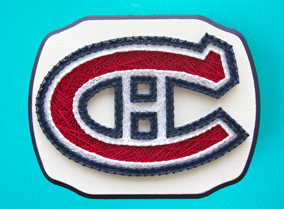 MADE TO ORDER Montreal Canadiens String By