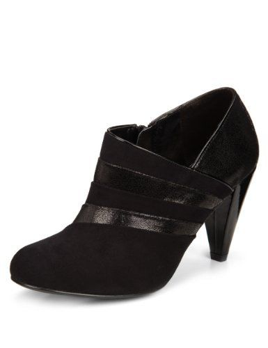 M\u0026S | High heels stilettos, Shoe boots