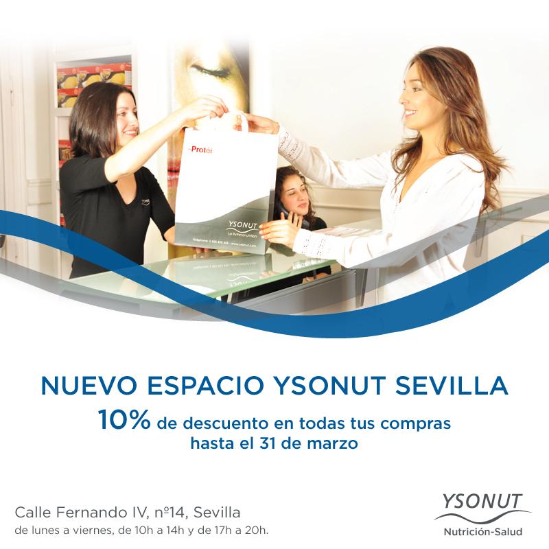 #Nuevo Ven a conocer el espacio #Ysonut de #Sevilla.