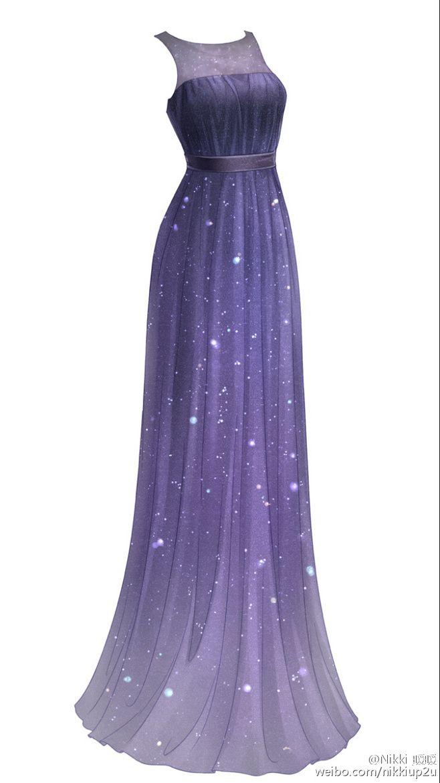 Sky maxi dress amine