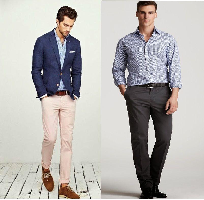 afe54ca0e SÓLO MODA PARA HOMBRES: CÓDIGOS DE VESTIMENTA MASCULINA Vestimenta Casual  Hombres, Código De Vestimenta