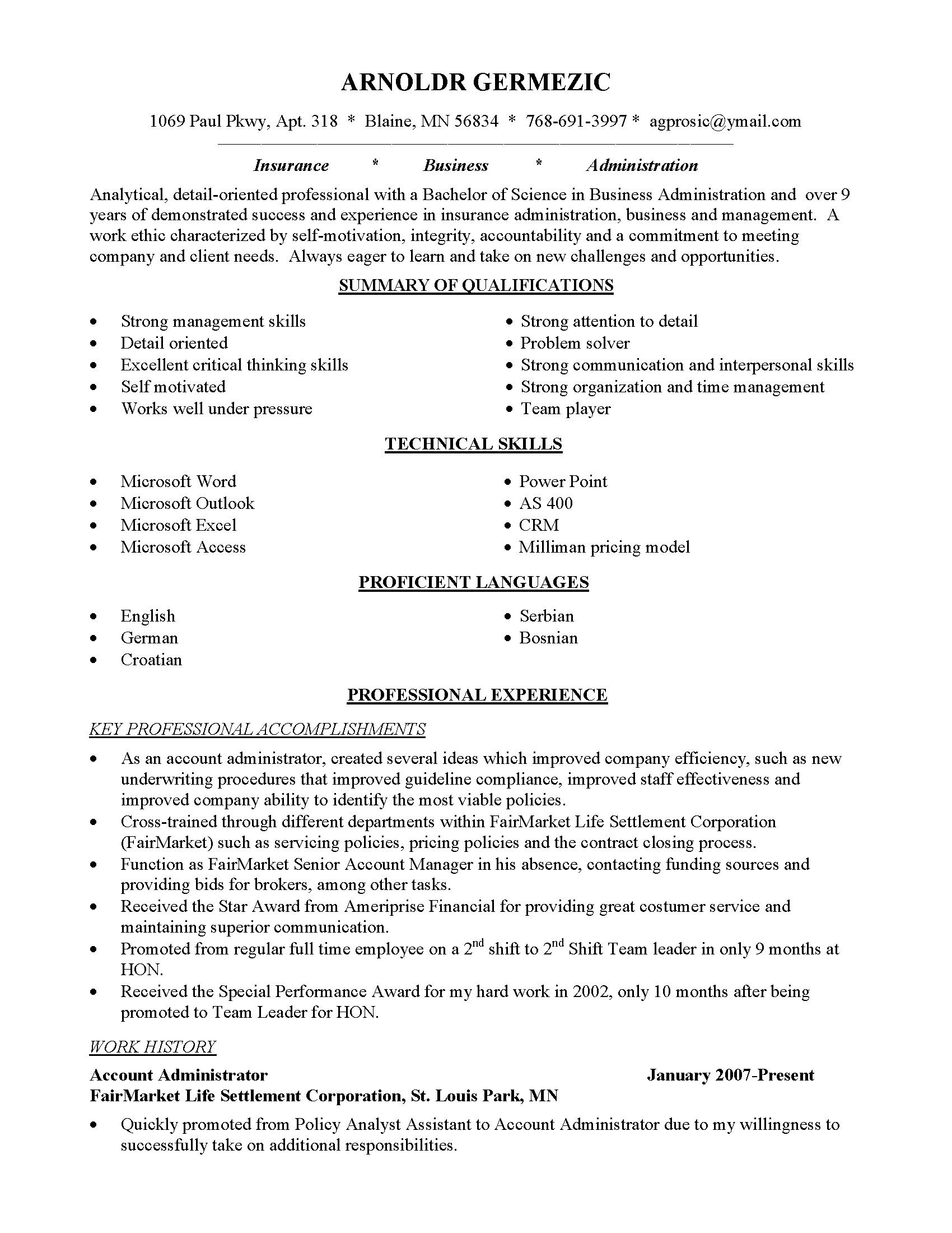 Resume for Career Change with No Experience Fresh Resume