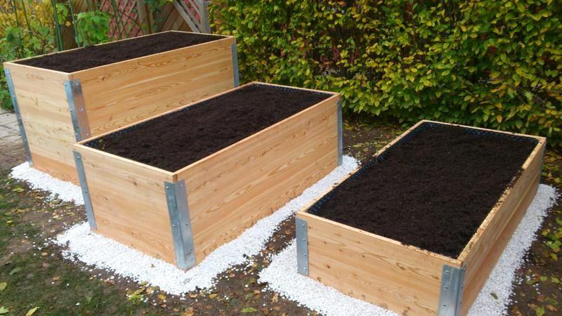 Hochbeete Unterschiedliche Grosse Und Hohe In 2020 Hochbeet Gartenmobel Sets Hochbeet Pflanzen
