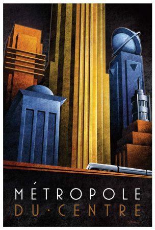 Metropole du Centre Art Print at AllPosters.com