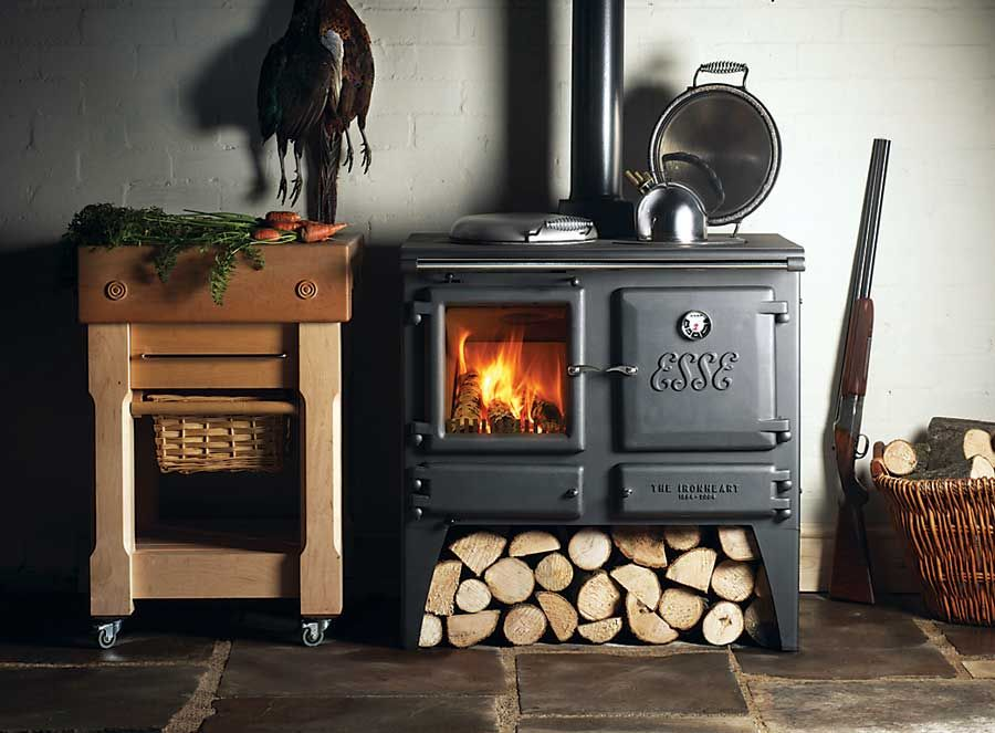 The Esse Ironheart Stove Mulasks To Provide Wood Heat In Three Diffe Forms E Cooking And For Domestic Water