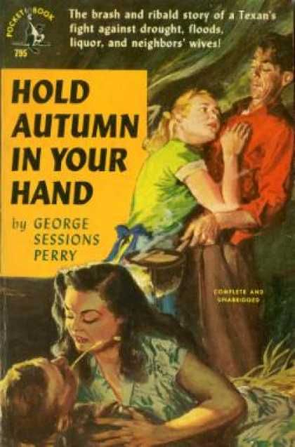 Pocket Books - Hold Autumn In Your Hands - George Sessions Perry