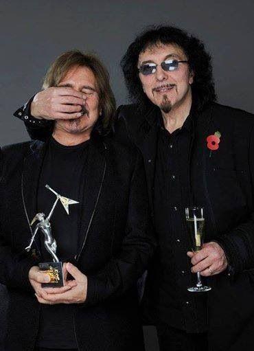 Geezer Butler and Tony Iommi!!!