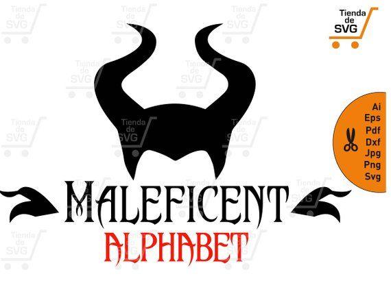 Malefica Font Svg Malefica Alphabet Svg Maleficent Svg