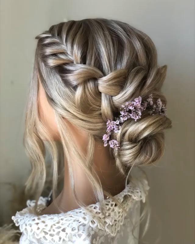 Wedding Hairstyle Tutorial Hairstyletutorial Penteadofesta Wedding In 2020 Frisur Hochzeit Brautfrisuren Lange Haare Haare Hochzeit