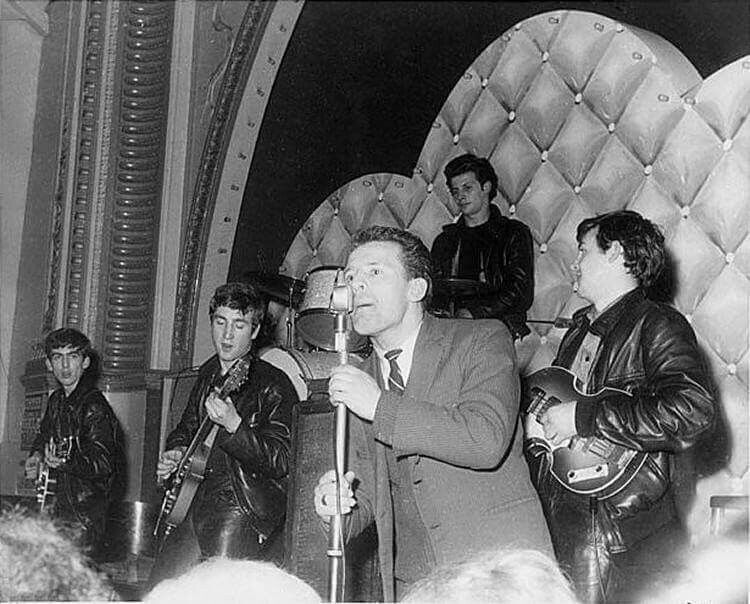John Lennon 1961 1961 - George Harrison...