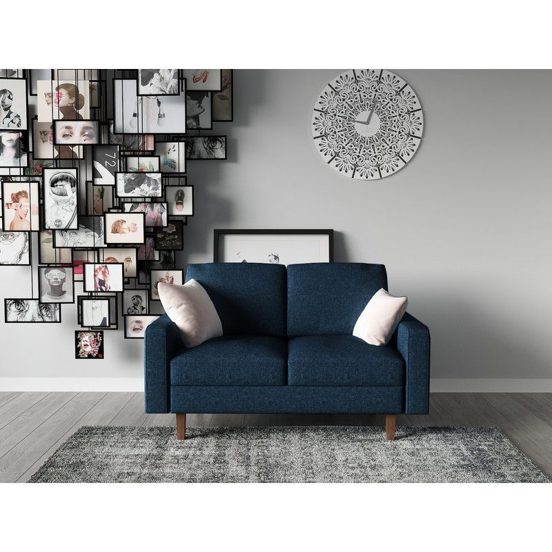 Enjoyable Mckenly Modern Loveseat Homey In 2019 Furniture Living Caraccident5 Cool Chair Designs And Ideas Caraccident5Info