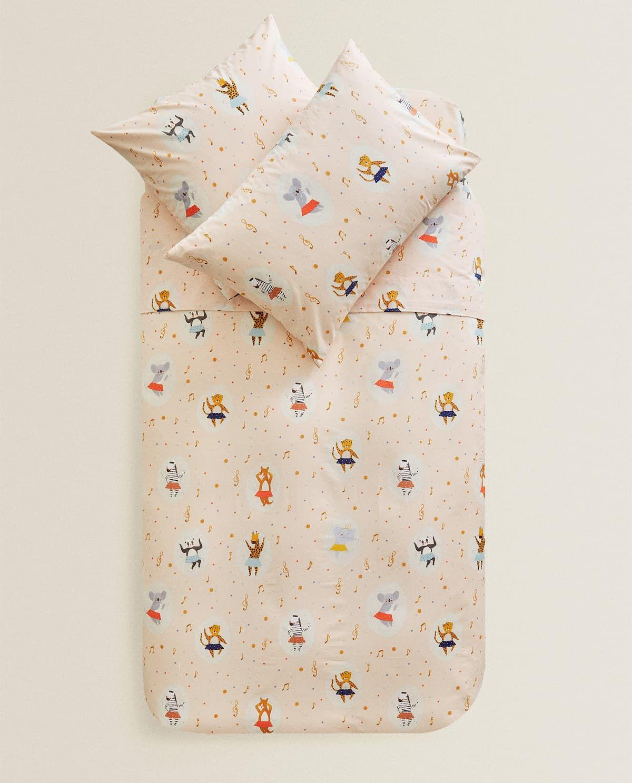 Funda Nórdica Estampado Animalitos Duvet Covers Zara Home Kids Bedroom