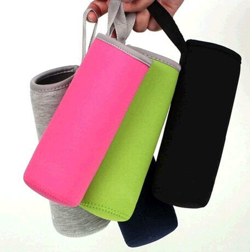 New Sport Water Bottle Case Insulator Bag Neoprene Pouch Holder Sleeve Carrier