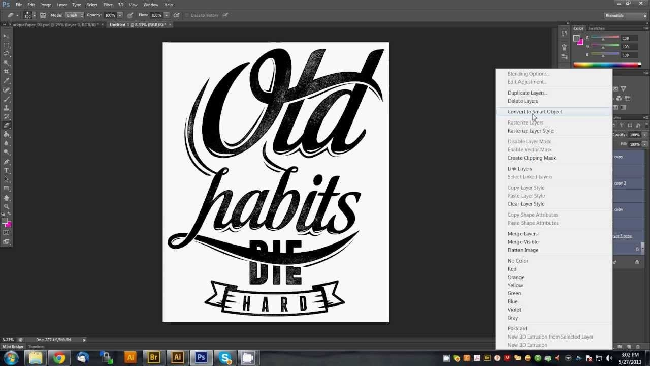 Design t shirt adobe illustrator tutorial - This Video Will Show You The Effect You See On Most Of Our Typography Designs From Typography Tutorialtypography Designlogo Designlettering Illustrator