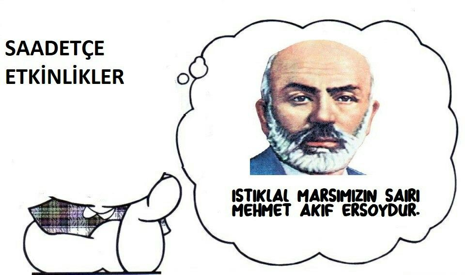 Istiklal Marşının Kabulü 12 Mart 1921 Mehmet Akif Ersoy Boyama