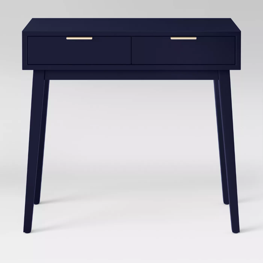Hafley Two Drawer Console Table Smoke Green Project 62 In 2020 Console Table Project 62 Storage Spaces