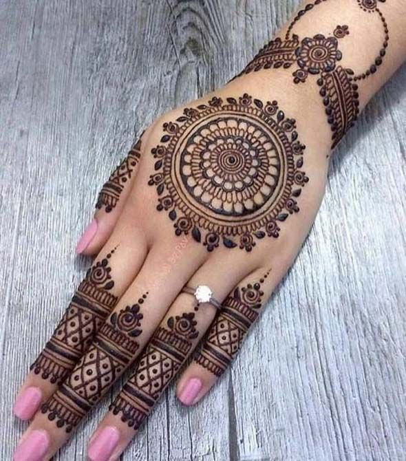 Latest bridal mehndi designs collection also to rock this eid ul azha is here rh pinterest