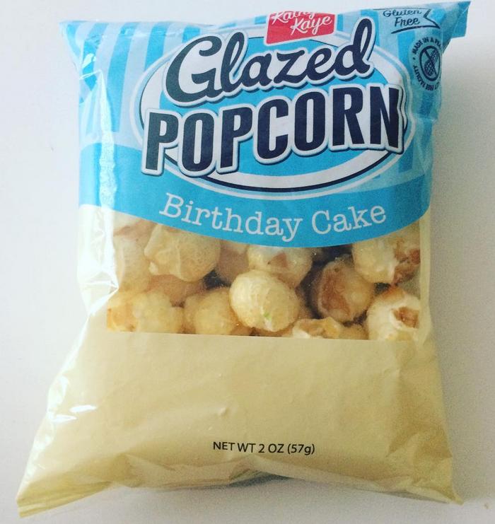 Glazed Birthday Cake Popcorn