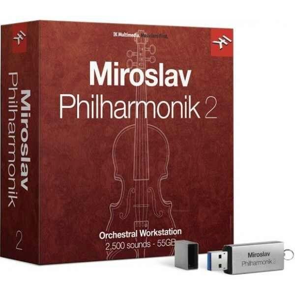 IK Multimedia - Miroslav Philharmonik 2 - USB Boxed