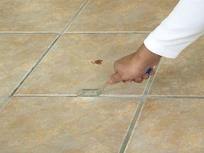 Repairing Tile Flooring Tile Repair Flooring Tile Floor
