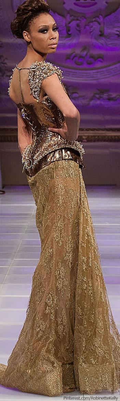 Amal Sarieddine Couture   S/S 2013 #fashion