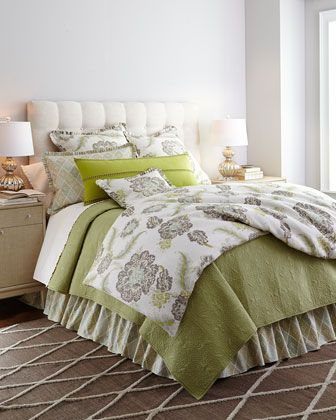 Lucerne Bedding by Traditions Linens at Horchow.