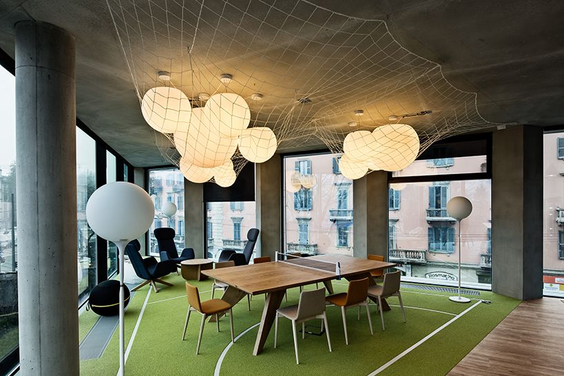 microsoft italia offices in milan Fixtures Pinterest Microsoft - innovatives interieur design microsoft