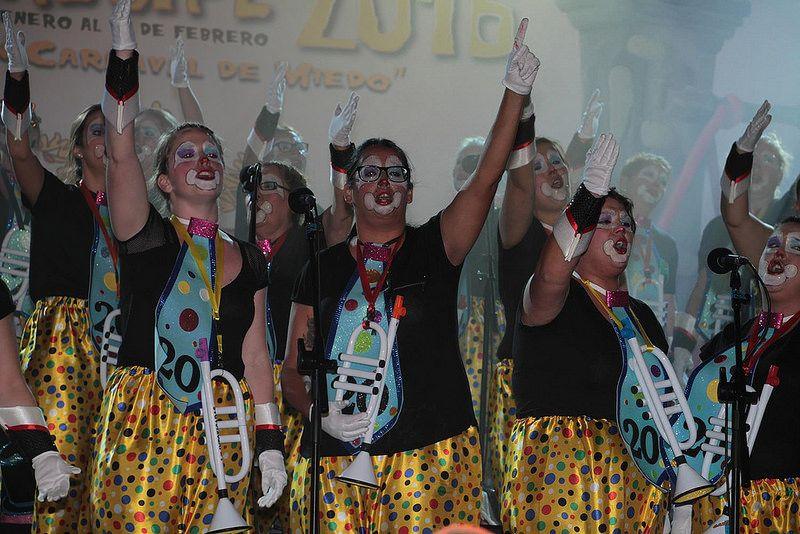 Grupo Mascarada Carnaval: Intoxicadas no saldrán en el próximo Carnaval