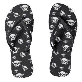 Skull Boys Flip Flops by Khoncepts