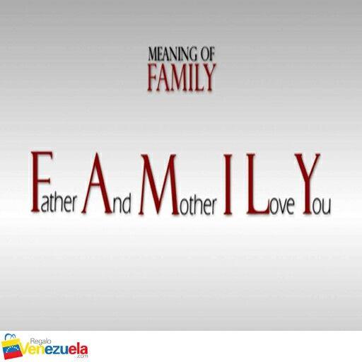 Meaning of family www.regalovenezuela.com