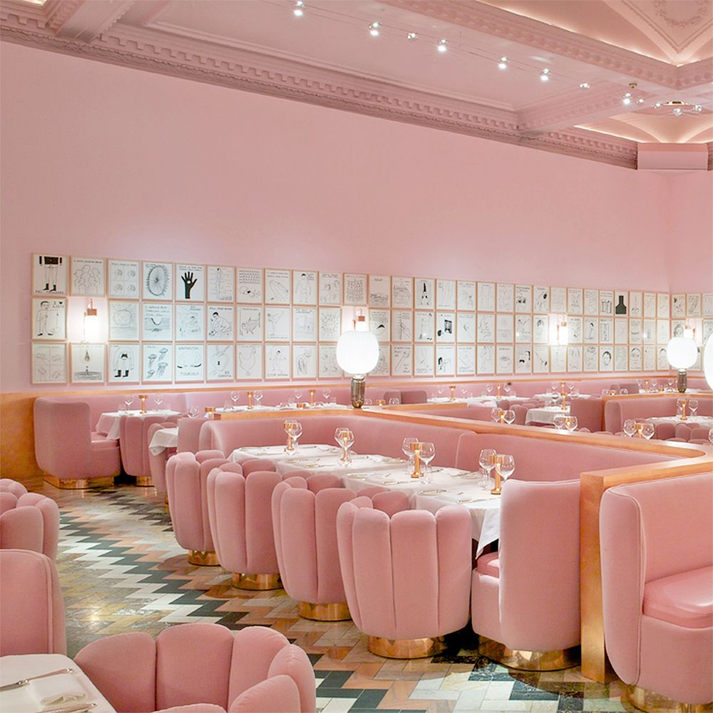 10 Instagram Worthy Brunch Spots in London   Pink dining ...