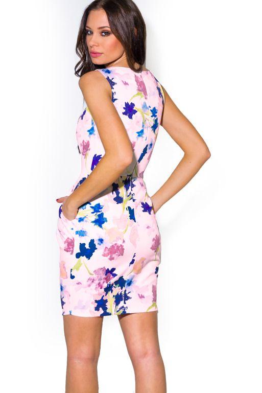 Sukienka Bombka We Wzor Akwarelowych Kwiatow Fashion Floral Skirt Skirts