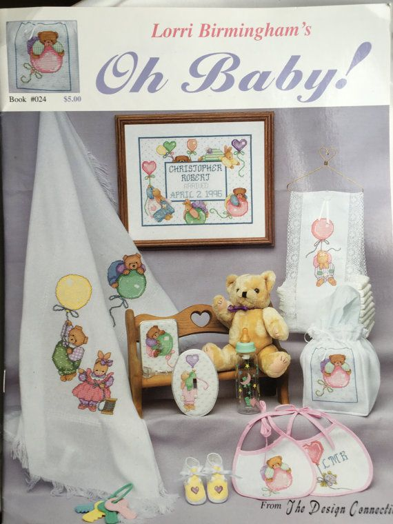 Vintage Oh Baby Cross Stitch Lorri Birmingham The Design