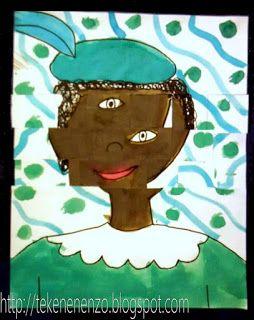 In de stijl van Pablo Picasso (1881 - 1973)