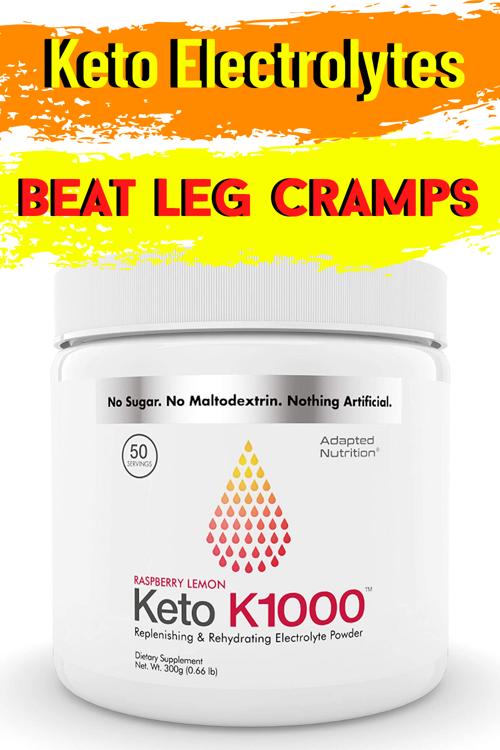 electrolyte powder on a ketogenic diet