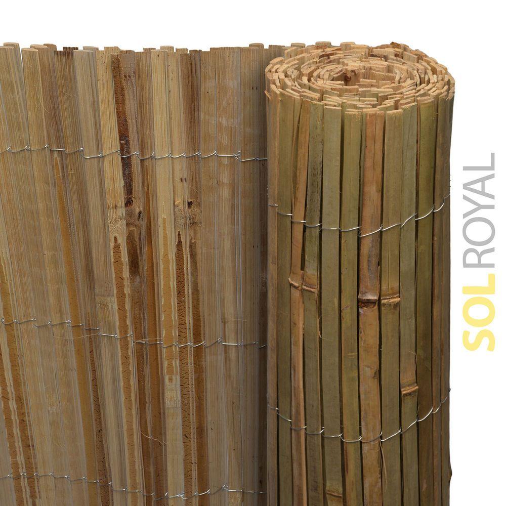 Details zu Sichtschutz Bambus Sichtschutzzaun