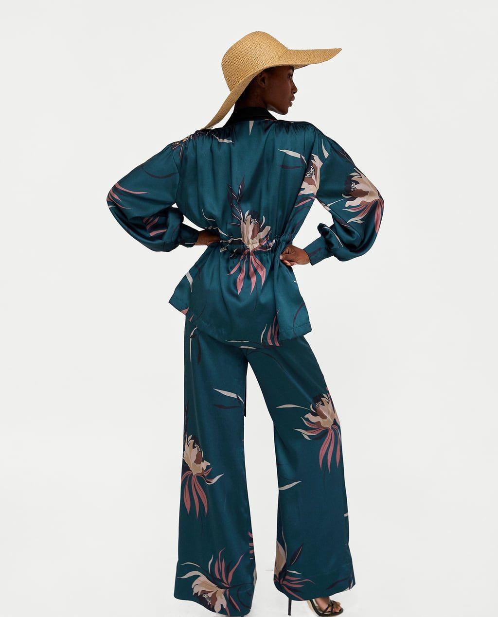 Pantalon Estampado Floral Floral Print Pants Printed Trousers Fashion