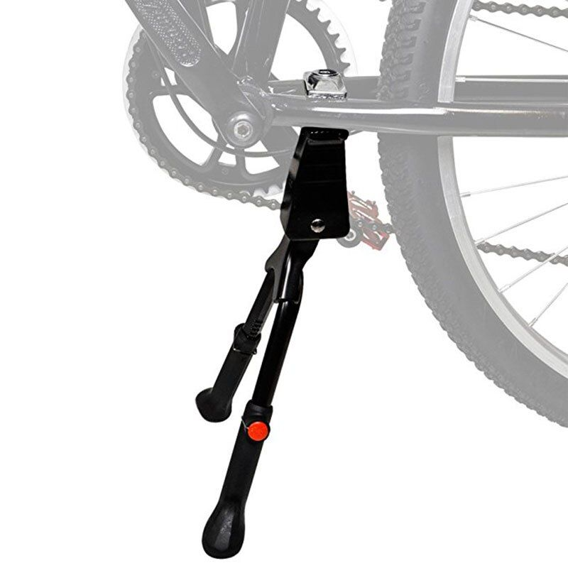 Adjustable Bicycle Bike Stand Parking Bracket Kickstand Cycling Foot Support