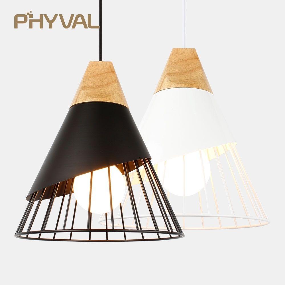 Nordic Pendant Light Wooden Pendant Lighting Modern Hanging Lamp Pendant Light