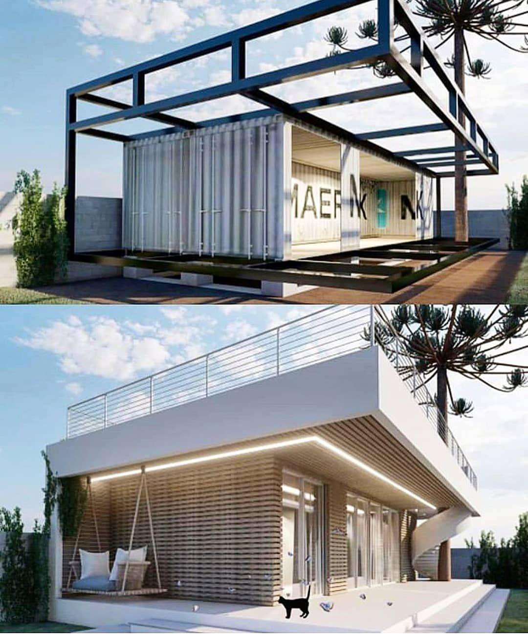 """Shipping Container Homes on Instagram: """"How about"""