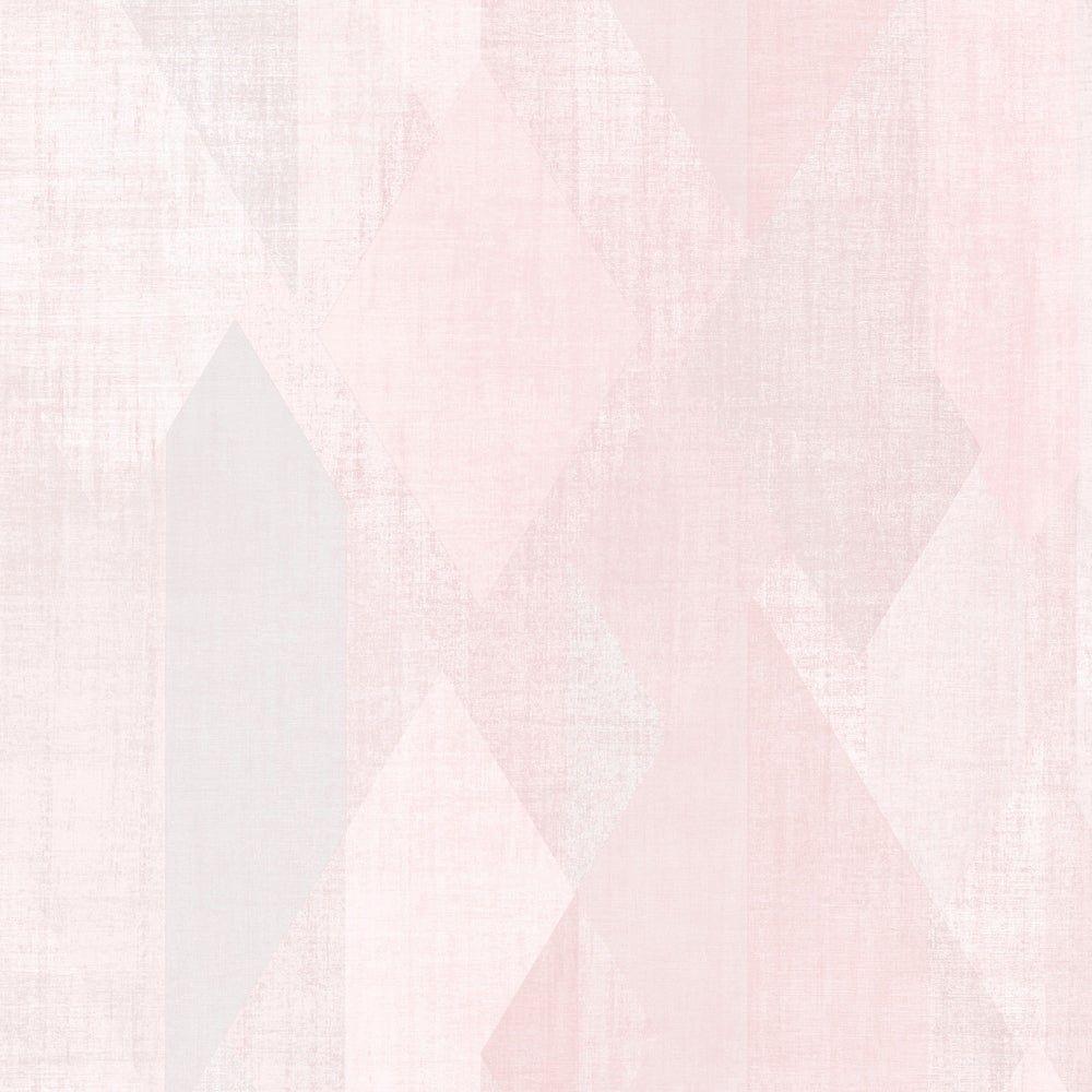 Glass Shards Wallpaper, Pink