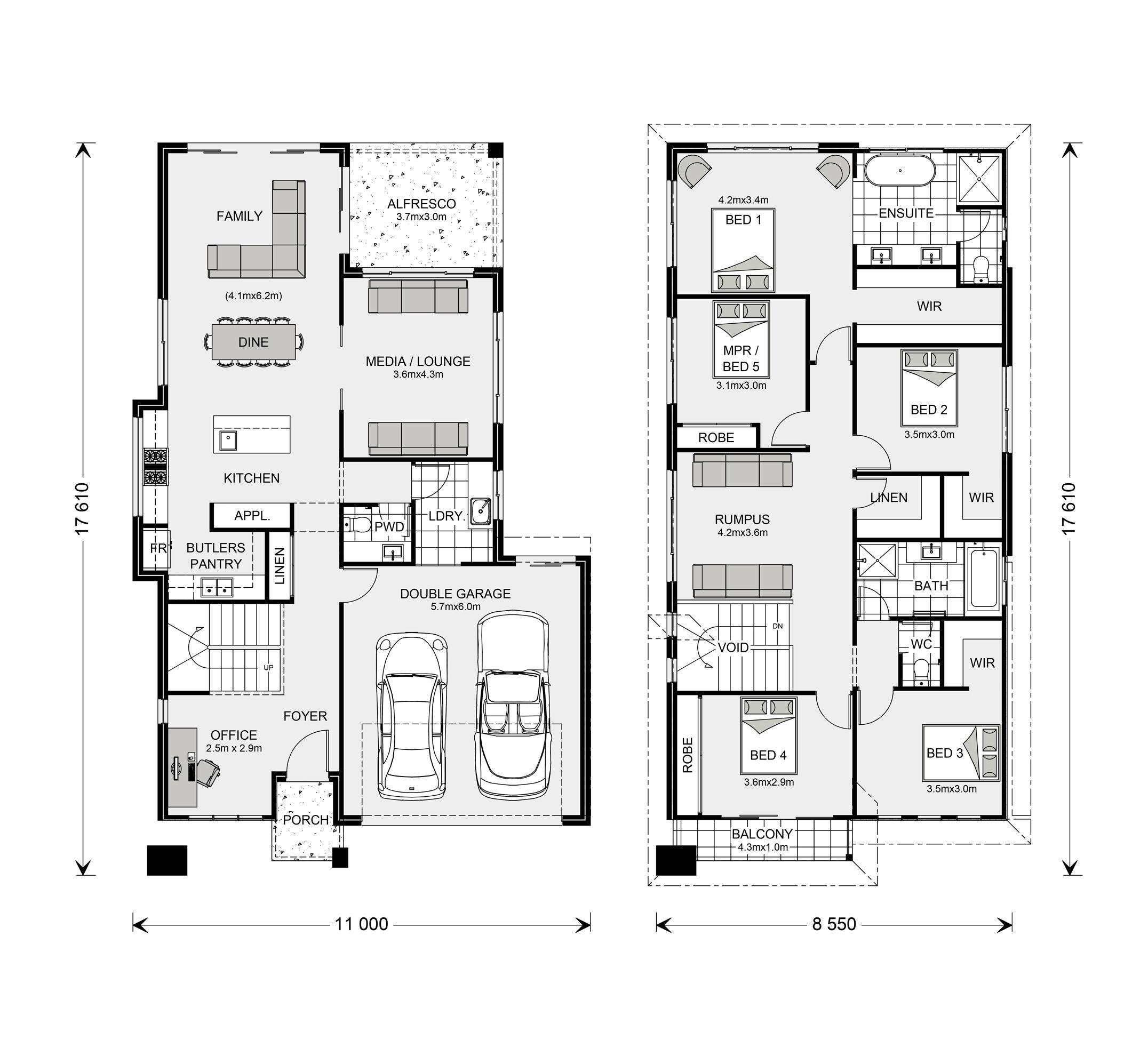 Coogee 427 Home Designs In Shoalhaven G J Gardner Homes Floor Plan Design House Design House Floor Plans