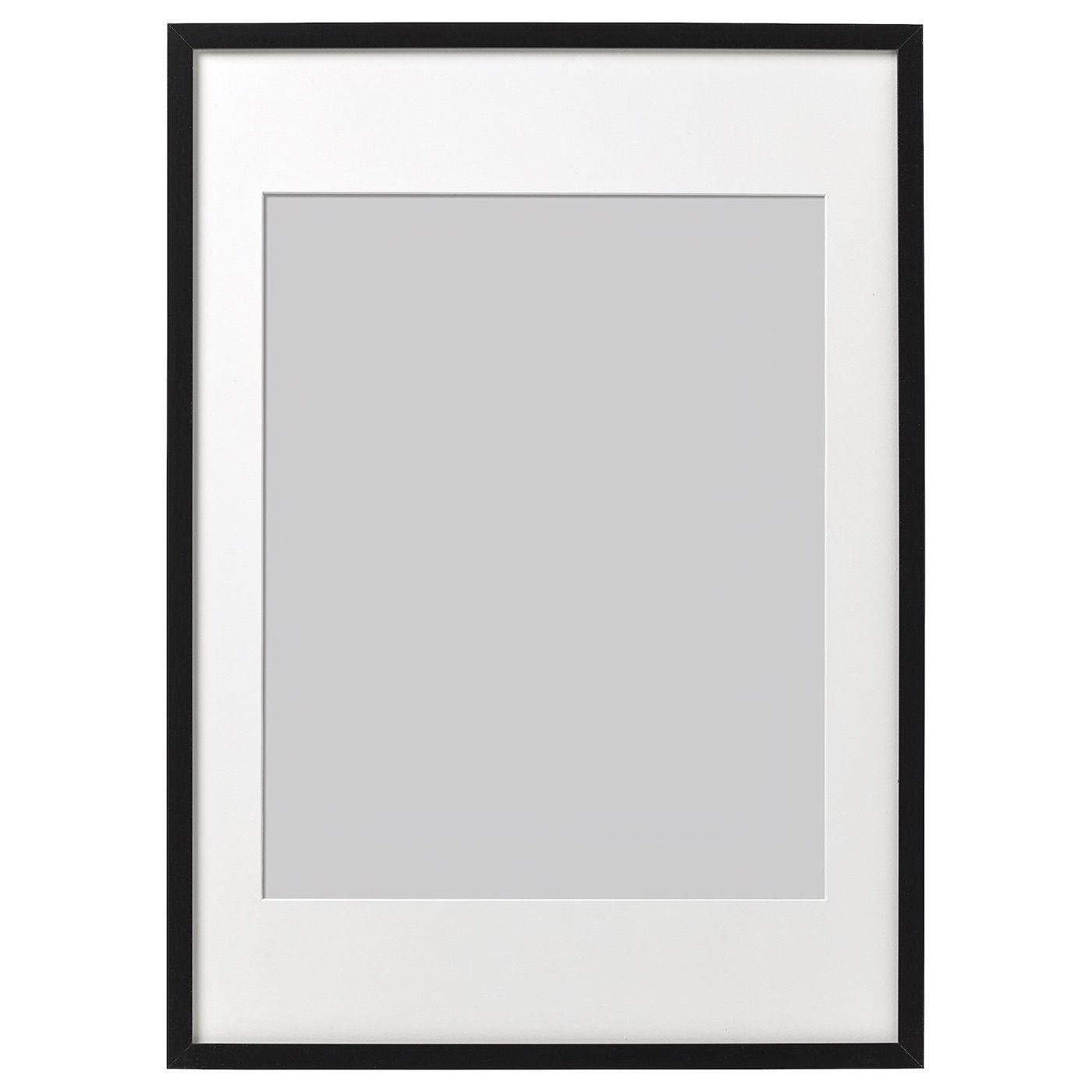 Ribba Fotolijst Zwart 50x70 Cm Ikea In 2020 Muur Met Lijstjes Ikea Zwart