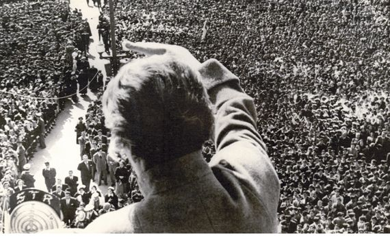 Gabriela Mistral-ultima visita 1954