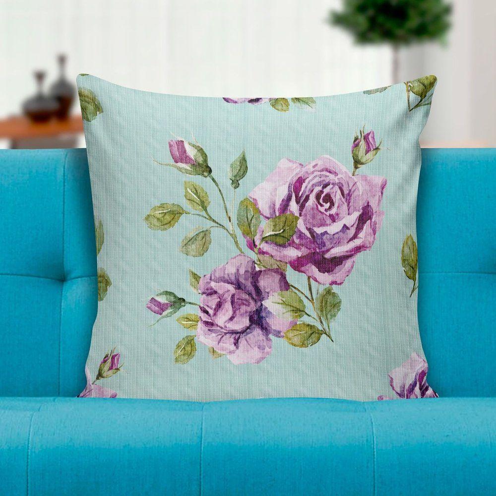 Capa para almofada Purple roses 45x45 - PRINCE ST
