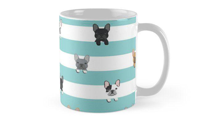 'French Bulldog stripes ' Mug by PetFriendly #frenchbulldogfullgrown