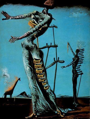 Dali - The burning Giraffe