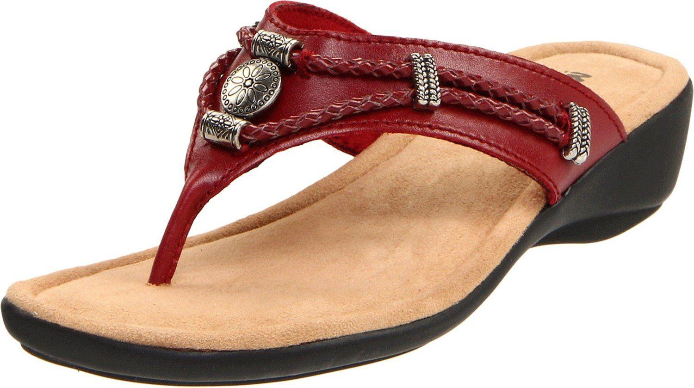 26991cad05583 Amazon.com: Minnetonka Women's Silverthorne Thong Sandal: Shoes ...