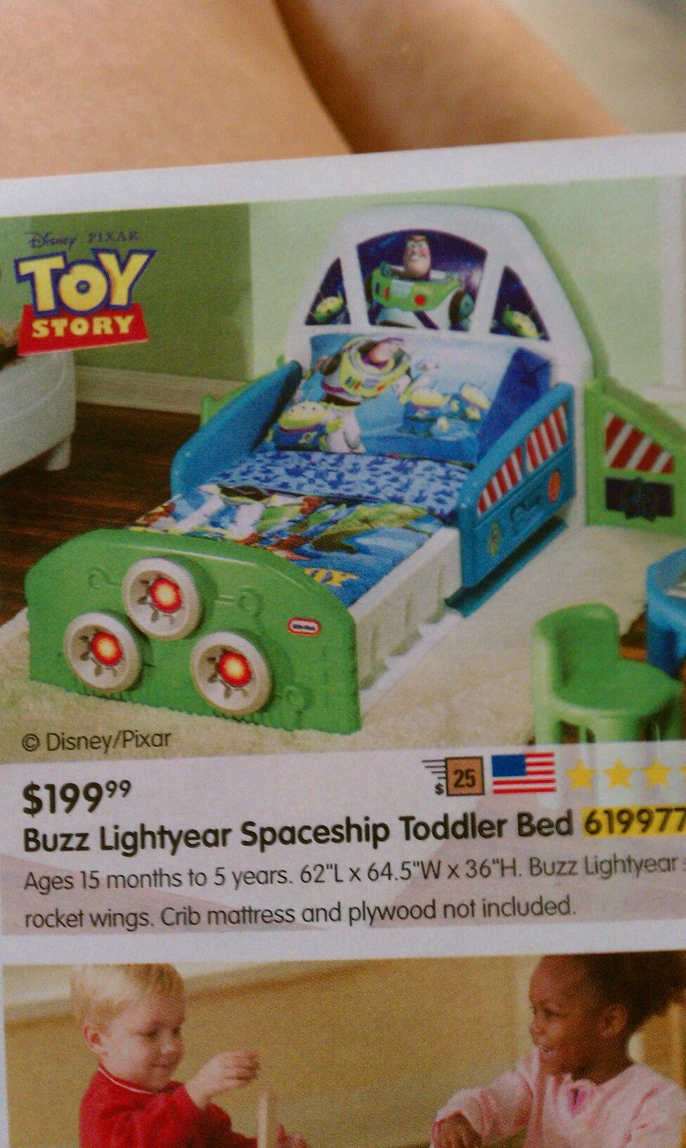 Buzz Lightyear Spaceship Toddler Bed | Wants, needs, and ...