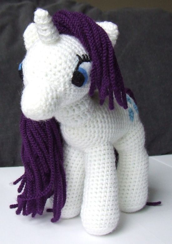 My Little Pony Toy Crochet Pattern! @ DIY Home Ideas  Pelayo  if you could make Lexi one she would be so happy